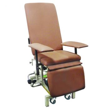 Hydraulic chair for mammography checkup, HI-LO